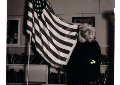 Donation of the Flag